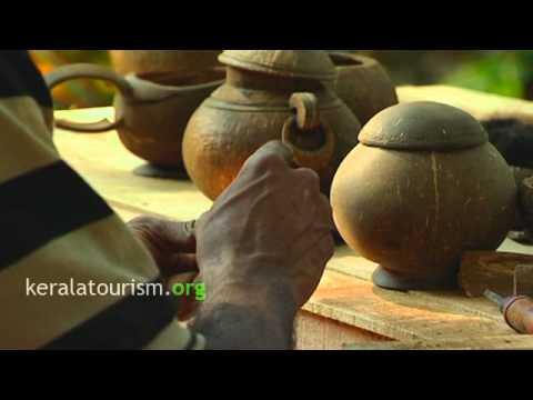 Handicraft Coconut shell Kudam