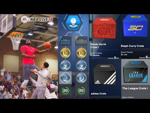 NBA Live 18 - Best Small Forward Build Road To 100 Overall!