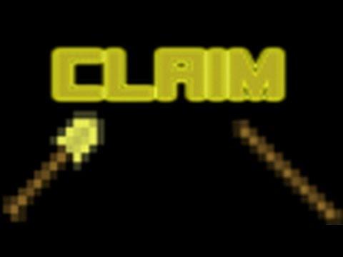 Si te bojm Claim Venin Shpien Chestin Etj - Minecraft Shqip
