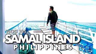 VLOG 105: SAMAL ISLAND, PHILIPPINES (Island Hopping)