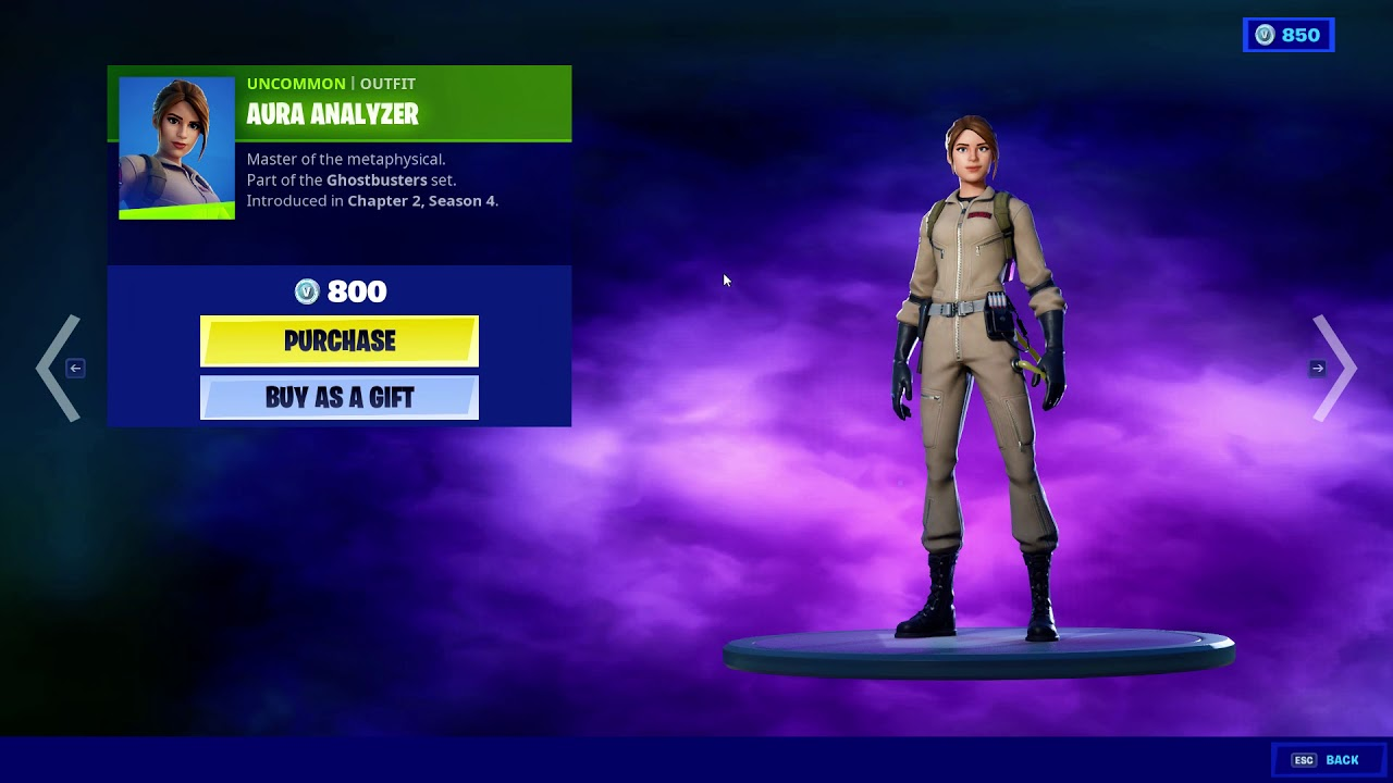 ghostbusters fortnite skins set will be in today s item shop october 24th 25th fortnite insider ghostbusters fortnite skins set will be