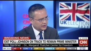 Nile Gardiner: Boris Johnson's Victory Good for America and the U.K.