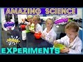 AMAZING SCIENCE EXPERIMENTS - Magic Box Toys Collector