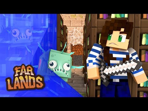 Weirdest Library Ever in Minecraft - Far Lands (Ep.10)