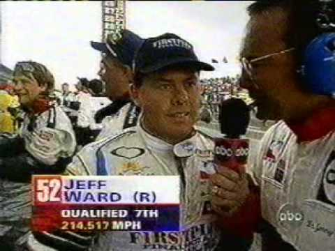 1997 Indianapolis 500 - ORIGINAL SUNDAY RAINOUT COVERAGE