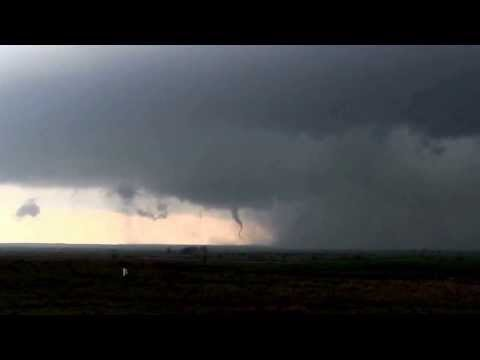 3-18-12 Greer County, OK supercell/twisters