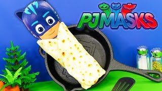 PJ Masks and Paw Patrol what is inside the Burrito