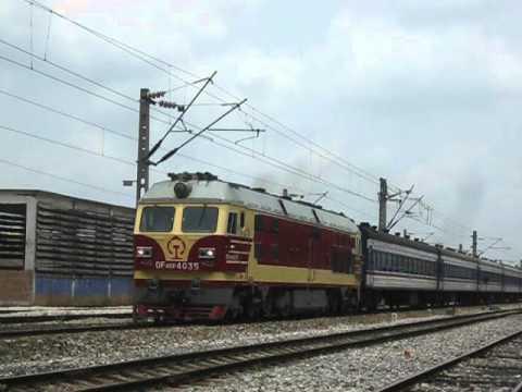 DF4DF, China Railway中国铁路(NanNing to FangChengGang Train)