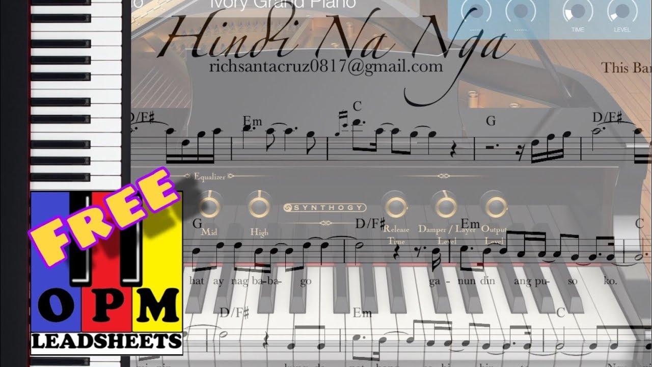 Hindi Na Nga by This Band Piano Cover using Korg Module