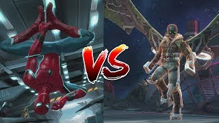 Spider-Man (Homecoming) Rank Up and Vulture Boss Battle - Marvel Contest Of Champions