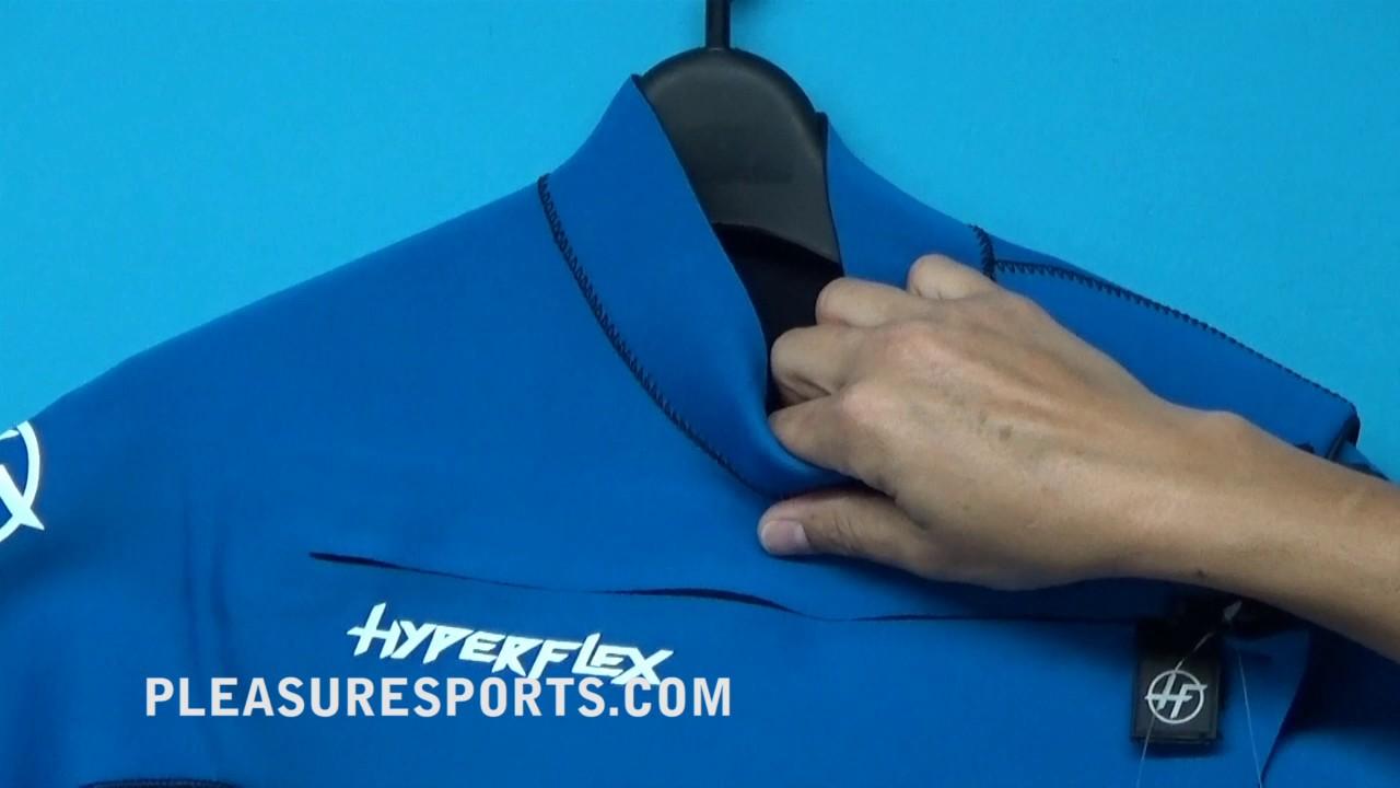 Chest Zip Sealed 2.5mm Men/'s Hyperflex VYRL Shorty Springsuit