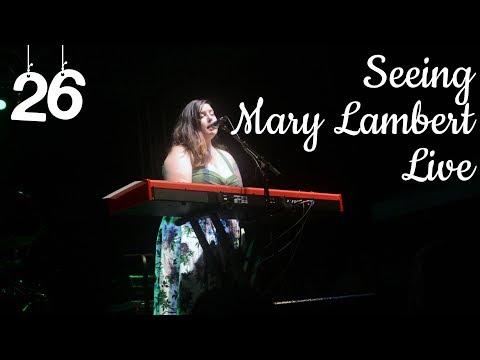 Seeing Mary Lambert Live | Malvina