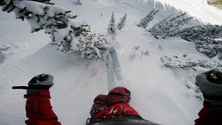 GoPro: Backcountry Cliff Huck with Justin Mayers