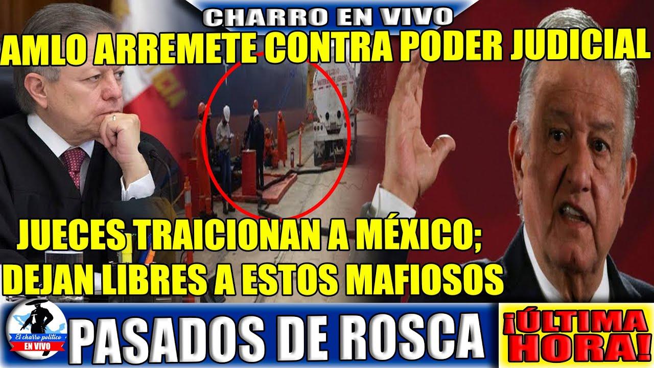 Cooperan O Cuello!Ya Estuvo D Hacerse Pend@#$;AMLO Manda Mensaje A Poder Judicial;Liberan A Mafiosos