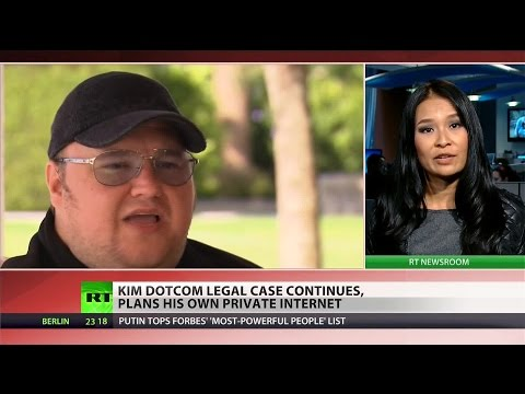 Kim Dotcom launches private internet out of reach of surveillance state