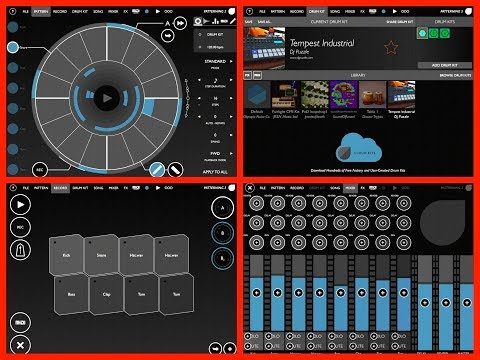 PATTERNING 2 Drum Machine - OUT NOW - Link Below - Demo iPad