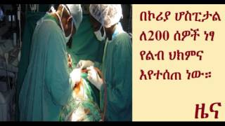 16 Korean volunteer  Surgeons provide free Cardiac surgery at Korean Hospital, Addis Ababa