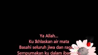 Fatin Shidqia Lubis - KekasihMu Lyrics Video
