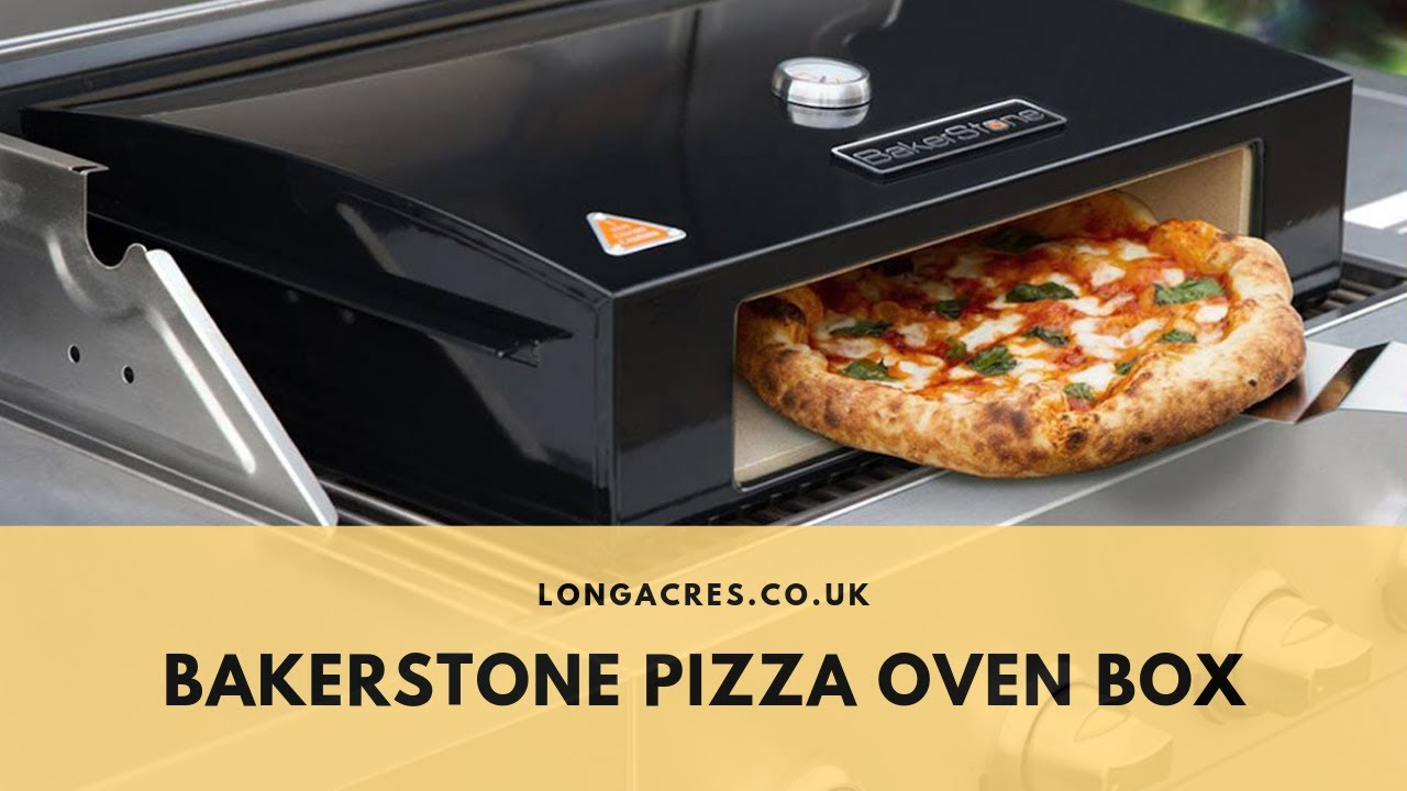 Make Perfect Pizza On Your Barbecue With The Bakerstone