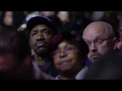 Reverend Dr William J Barber, II speaks on racial and economic justice at the 2016 SEIU Convention