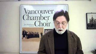 Orpheus Choir Toronto hosts the Vancouver Chamber Choir, Feb 23, 2011