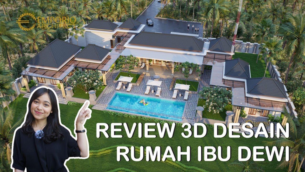 REVIEW 3D DESAIN RUMAH MEWAH IBU DEWI DENGAN STYLE SCANDINAVIAN