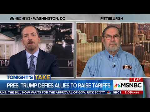 President Of United Steel Workers of America: Trump Gaining Democrat Union Voters Due To Tariffs