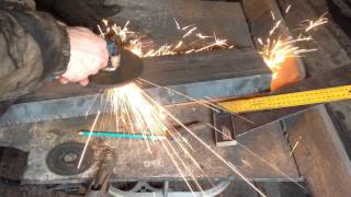 Фронтальный погрузчик, изготовление крепления стойки.(, 2016-03-20T09:19:11.000Z)