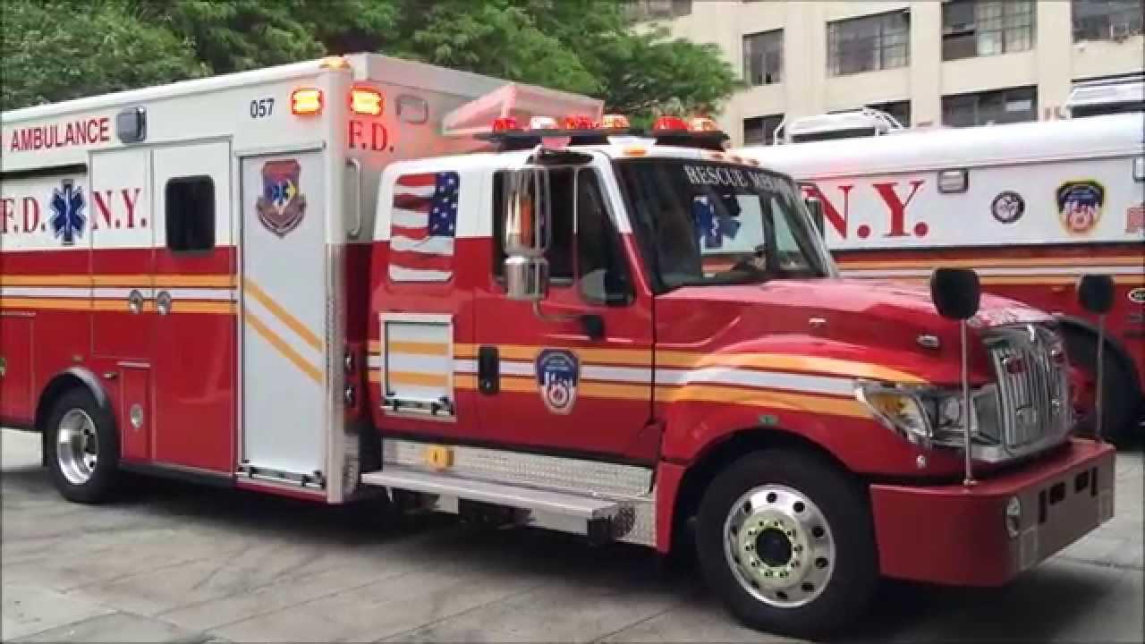 Mini Lights Sample From Brand New Fdny Rescue Medics