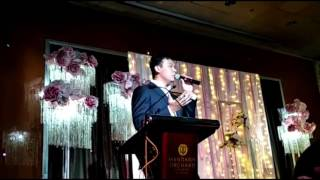 John Lye (Bilingual emcee) for a wedding celebration