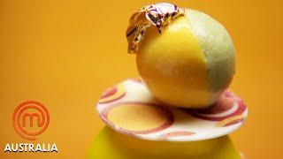 Mango Alfonso Dessert Pressure Test   MasterChef Australia   MasterChef World