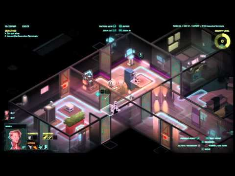 Let's play Invisible INC console EXPERT RUN #(006)