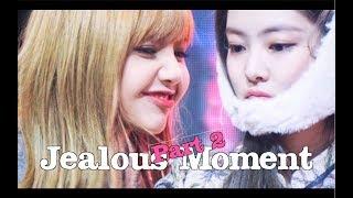 Jenlisa Jealous Moments Part 2 [BLACKPINK Jennie x Lisa]