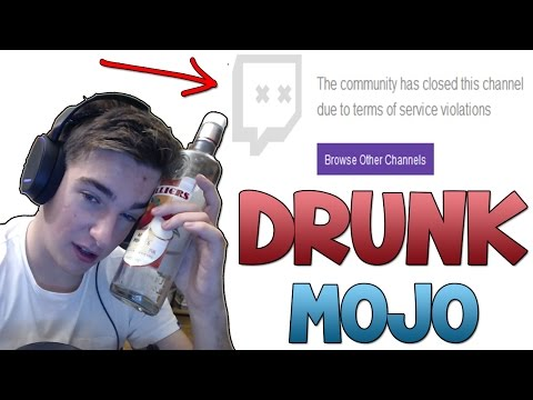How To Get Banned On Twitch (Drunk Mojo 3.0 CS:GO Funny Moments)