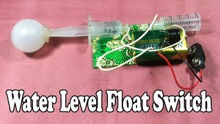 Water Level Float Switch - Water Tank Level Indicator Float