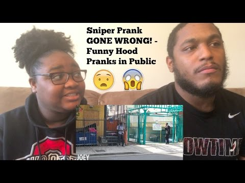 Sniper Prank GONE WRONG! Funny Hood Pranks in Public-REACTION VIDEO