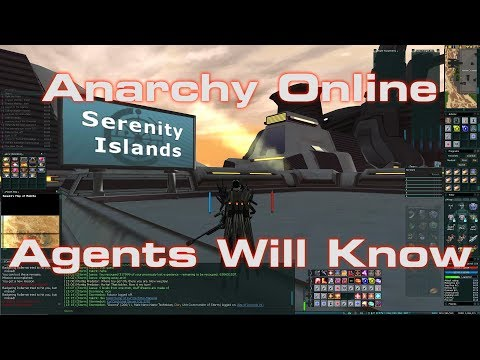 Anarchy Online 2018: Agents Will Know