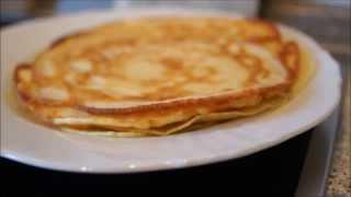Pfannkuchen Rezept - German Pancakes - Easy Receipe