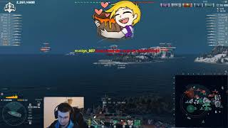 World of Warships - 1 vs 23