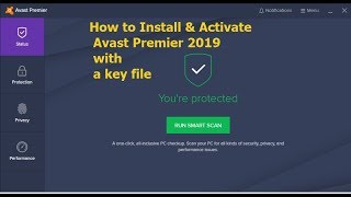 Avast premier 2019 With Activation code/license key!How to install & Activate