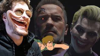 Kombat Pack 1 REACTION (high effort content)- Terminator, Spawn, The Joker..