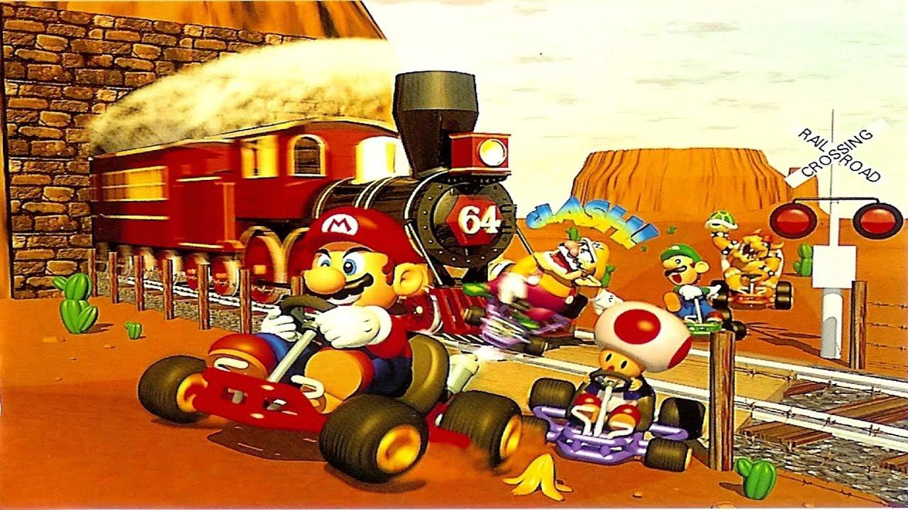 Mario Kart 64 Online Race #50 - YouTube
