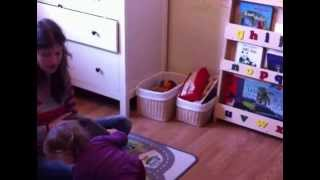 Isla Loves Her Tidy Books Childrens Bookcase!!