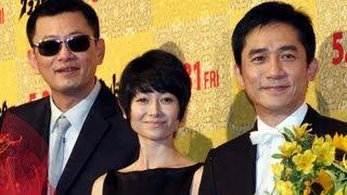 「花様年華」「2046」のウォン・カーウァイ監督の最新作「グランド・マスター」のジャパンプレミアが5月30日、東京都内で行われた。会場には主演のトニー・レオンさんと ...