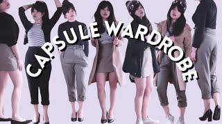 How I style my capsule wardrobe | Minimalism | Slow fashion | Lookbook 2018