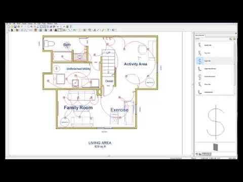 Wiring your basement basement electric design plan  YouTube