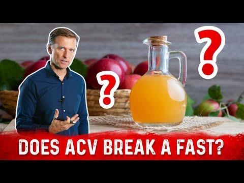 Will Apple Cider Vinegar (ACV) Break Your Fast?