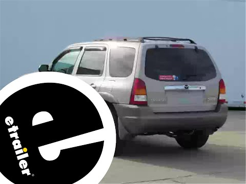 etrailer | Trailer Wiring Harness Installation - 2002 Mazda Tribute -  YouTubeYouTube