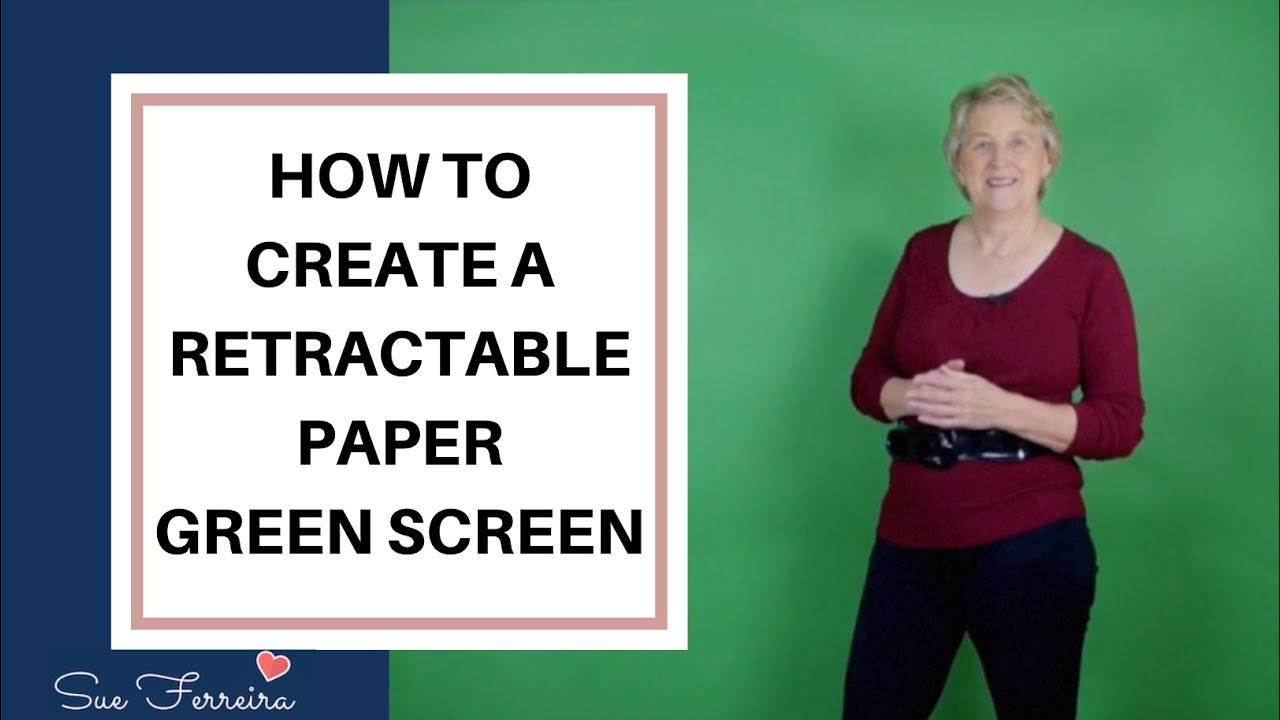 Watch How to Make a Green Screen video