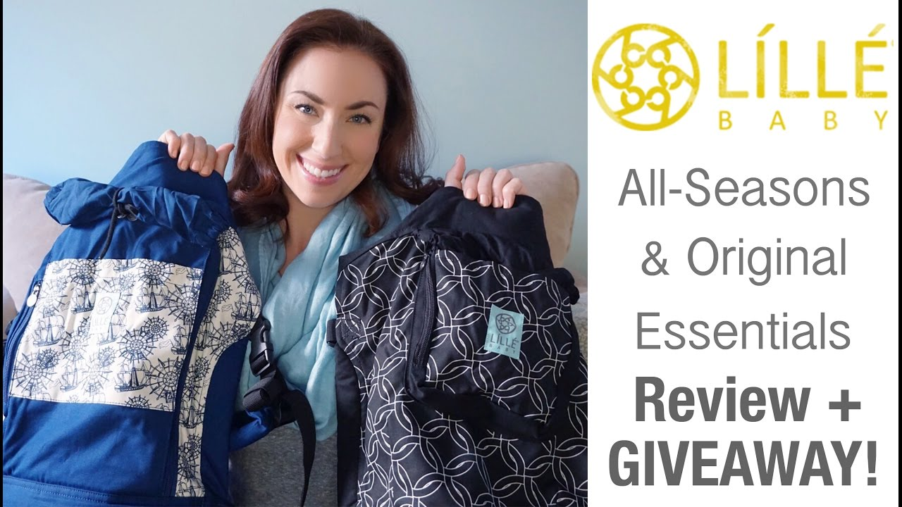 New Lillebaby All Seasons Essentials And Original Essentials Baby Carrier Review Giveaway